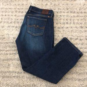 Lucky Brand Sweet 'N Crop jeans 8/29